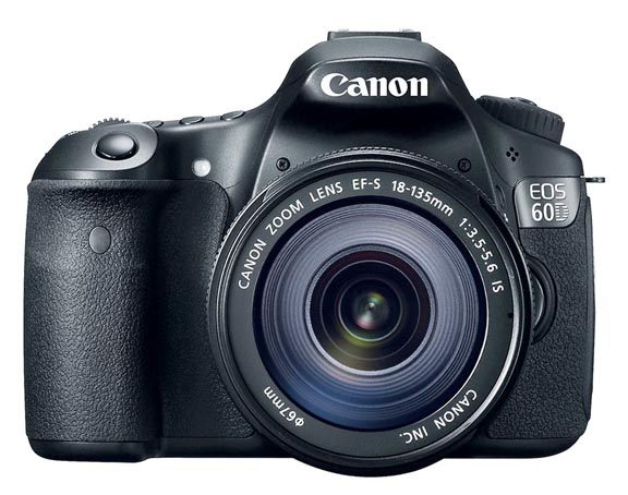 Front of Canon EOS 60D