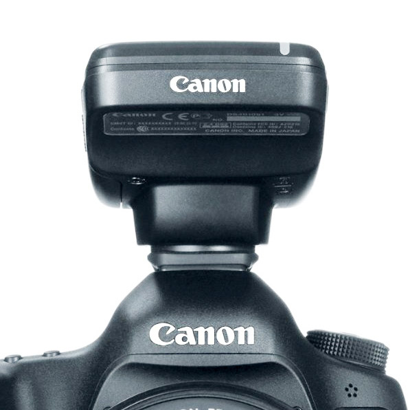 Front View of Canon Speedlite Transmitter ST-E3-RT