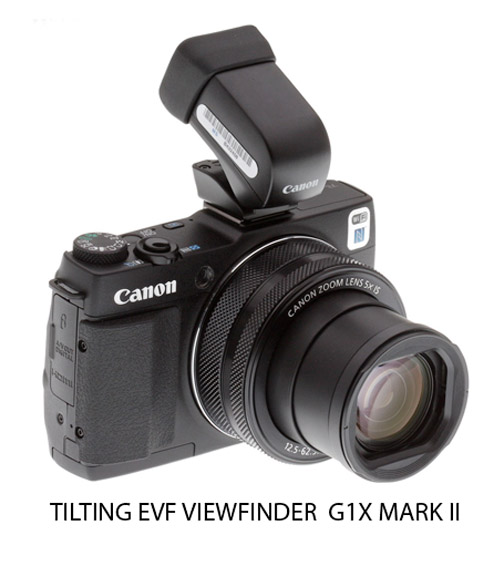 G1X Mark II Tilting EVF Viewfinder