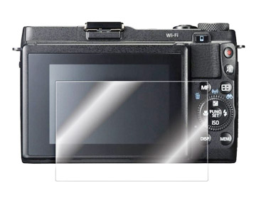 LCD Screen protection for the G1X Mark II
