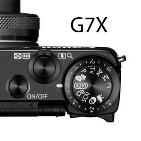 G7X Exposure Compensation Dial