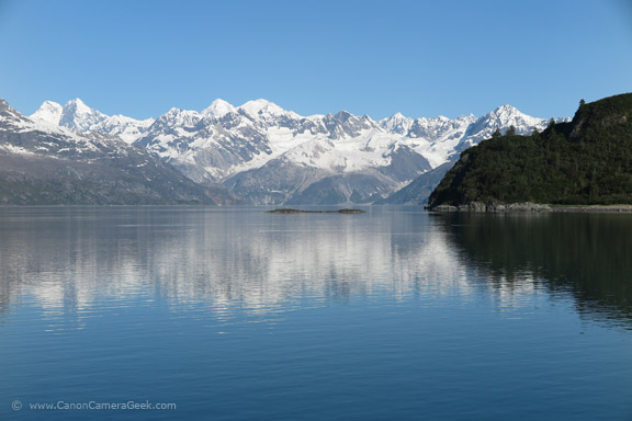 Glacier Bay Alaska reflection