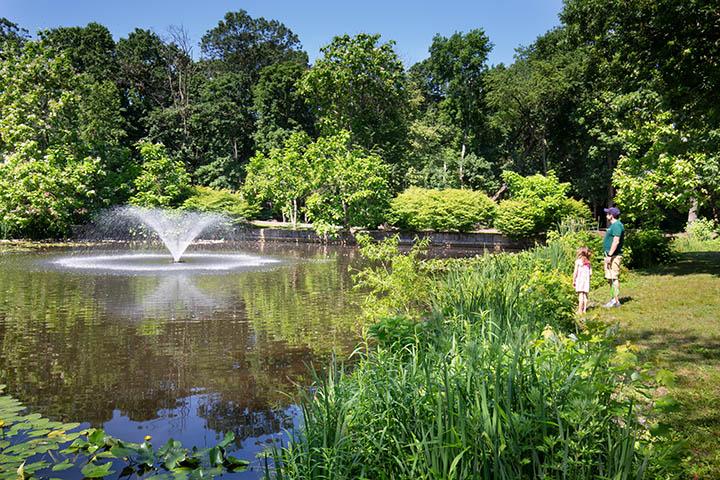 Glen Lake fountain Pitman NJ
