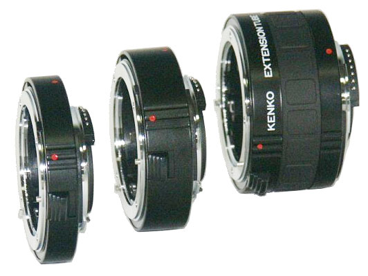 Kenko extension tubes for Canon DLR