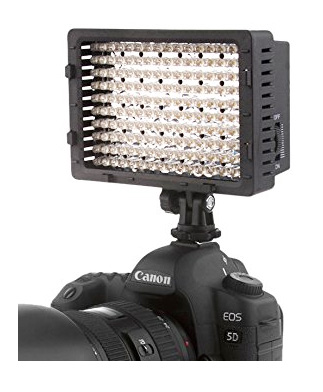 LED Light Panel for Rebel Camera- Hot Shoe Mount