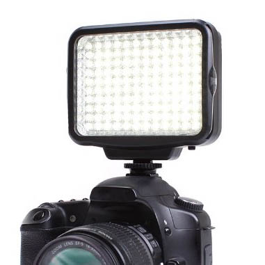 Lighting Accessories - LED Panel for Canon T3i Hot Shoe-Mount