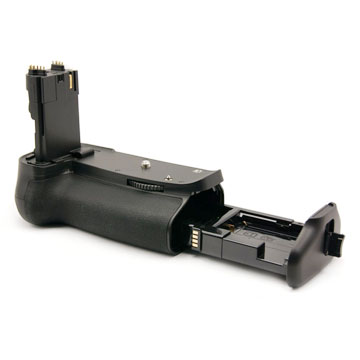 Meike battery grip and tray