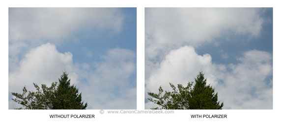 Most Common Use for Polarizing Filter is to Increased Contrast in Clouds and Darken the Sky