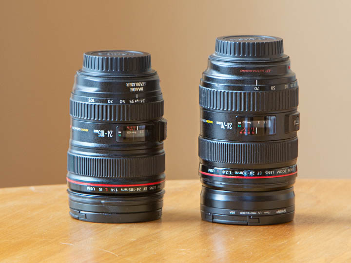 My new Canon wedding lenses