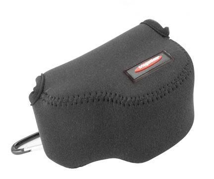 Picture of a Neoprene camera case made for Canon Powershot G1X Mark II