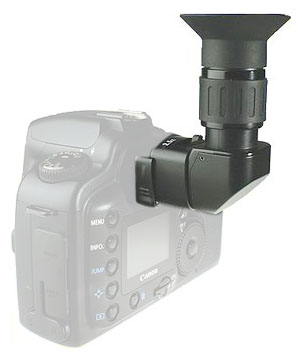 Opteka right angle viewer on camera