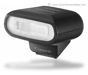 The Canon Speedlite 90EX was specifically designed for the EOS M camera