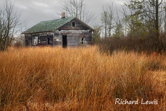 Abandoned House- NJ Pinelands by Richard Lewis Photography