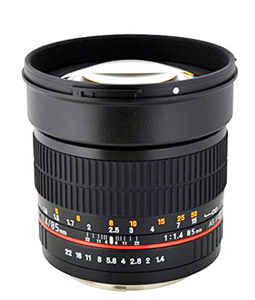 Rokinon 85mm Lens