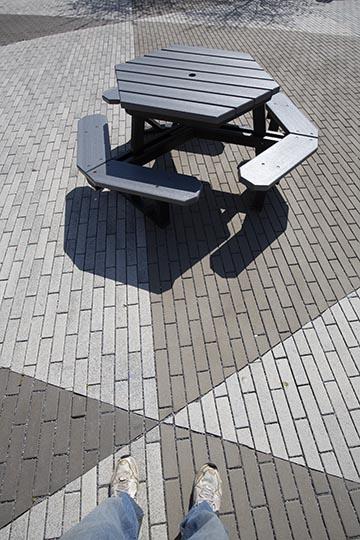 Rowan University Courtyard