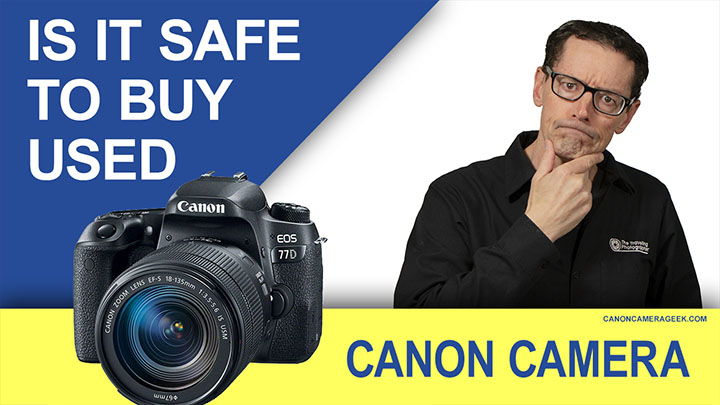 Used Canon Camera Banner