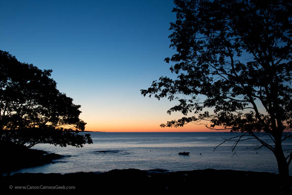 Sunrise - Schooner Head - Mount Desert Island - Maine