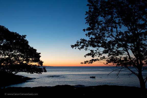 SchoonerHead Sunrise - Mt. Desert island - Maine
