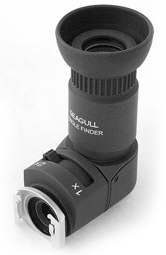 Seagull right angle viewer is the cheapest alternative to the Canon Angle Finder C