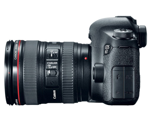 Side View of Canon 6D