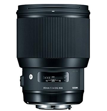 Sigma 85mm f/1.4 Lens