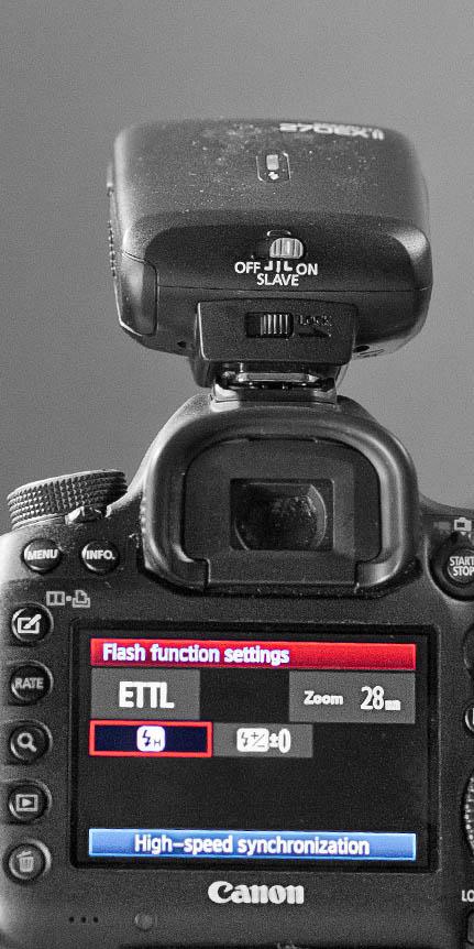 Canon 5D Mark III - Speedlite High Speed Syncronization