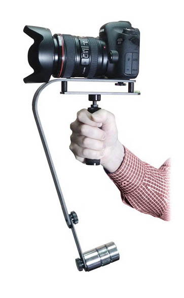 Steadycam video camera stabilizer
