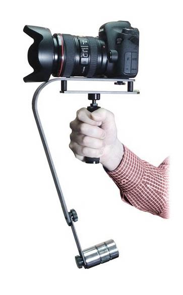 Steadycam video camera stabilizer