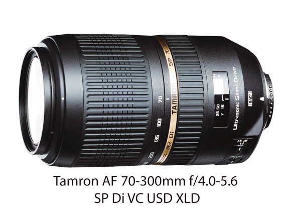 Tamron 70-300 f4 - f5.6 Zoom Lens