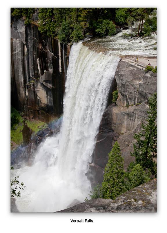 Vernall Falls-Yosemite CA-Canon 5D