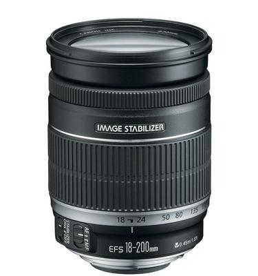 Canon EF-S 18-200mm Lens