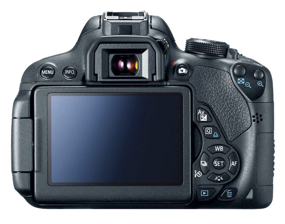Canon t5i Rotating LCD Screen