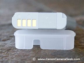 Battery contacts of G1x Mark II Battery