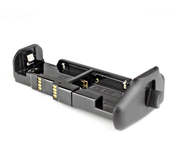 Photo of the battery magazine that slides into the battery grip for the Canon EOS 60D