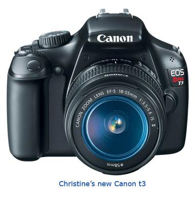 Congrats on your new Canon t3