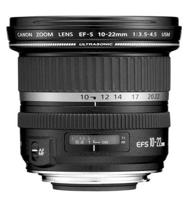 Canon 10-22 Wide-Angle Lens for APS-C