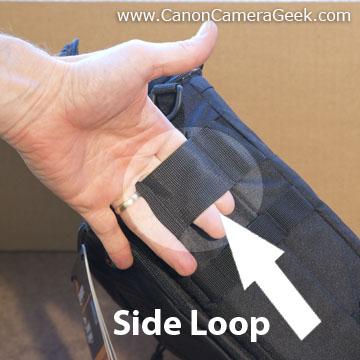 Toploader side loop
