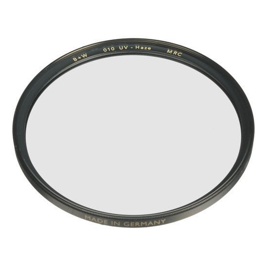 The clear filter is the easiest way to have constant protection for your camera lens.