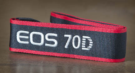 Camera strap for Canon 70D
