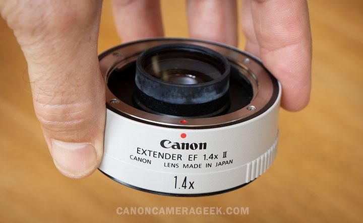 Canon 1.4X Extender Lens Mount