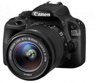 Canon 100D With EF-S 18-55 Lens