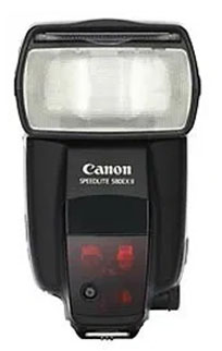 Canon 580EX II Stock Photo