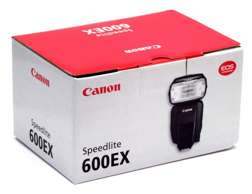Canon 600EX-RT box