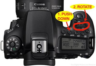 How To Set<br>Canon 90D Drive Mode