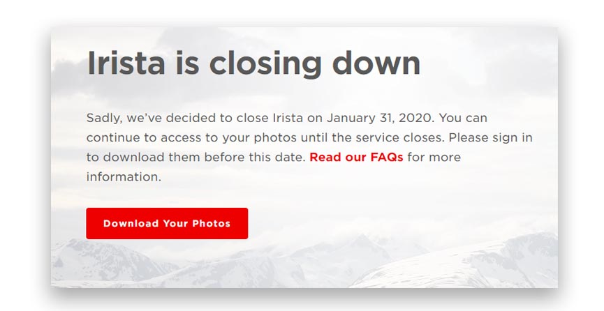 Canon Cloud Closing
