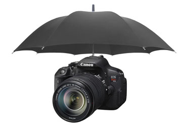 Canon DSLR Rain Protection