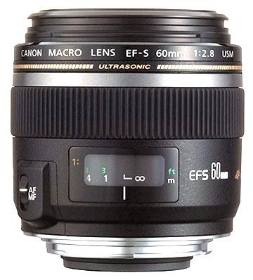 Canon EF-S 60mm F/2.8 Macro Lens