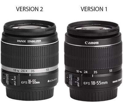 Canon 18-55 Lens Comparison
