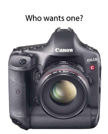 Canon eos 1D C Camera