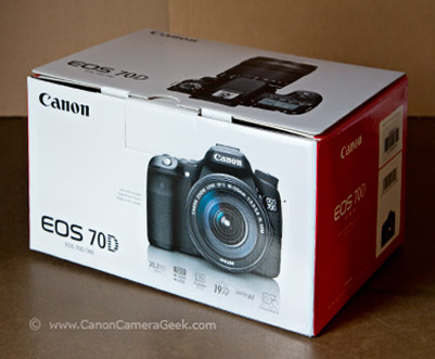 Canon EOS 70D Box - Body Only